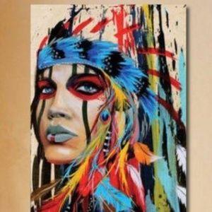 Other - NEW - Canvas Print Aboriginal Art